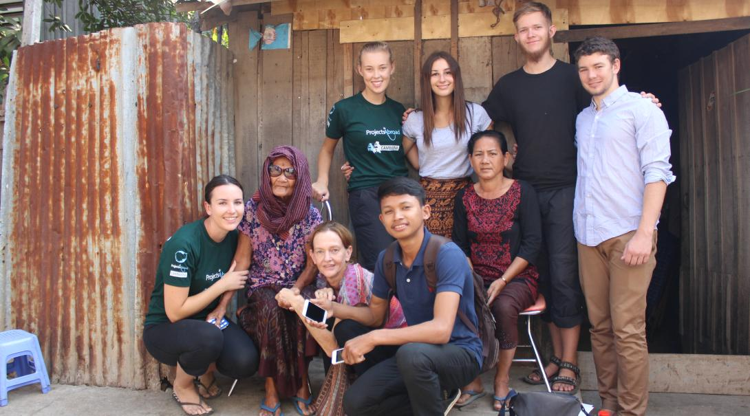 In-country support for volunteers in Cambodia